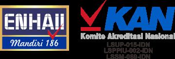 Logo PT ENHAII MANDIRI 186 dan KAN
